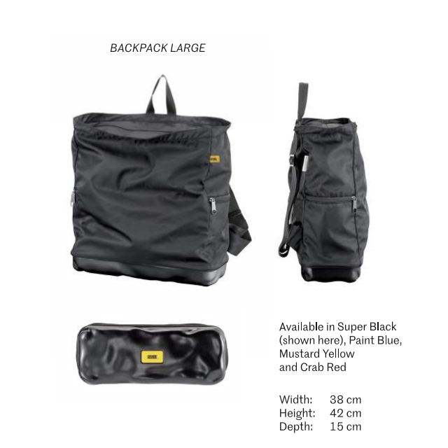 "crash baggage backpack 13"" knoopsschat aalter"