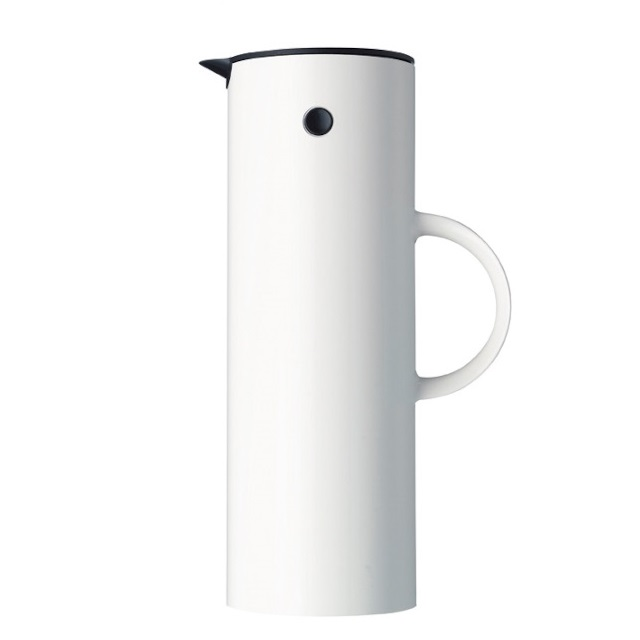 STELTON witte termos 1 l. Knoopsschat Aalter
