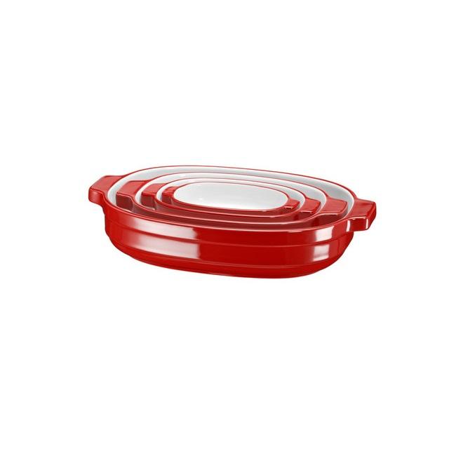 KitchenAid pot set rood Knoopsschat Aalter