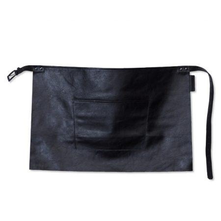 dutchdeluxe bistro1 waist apron short black knoopsschat aalter