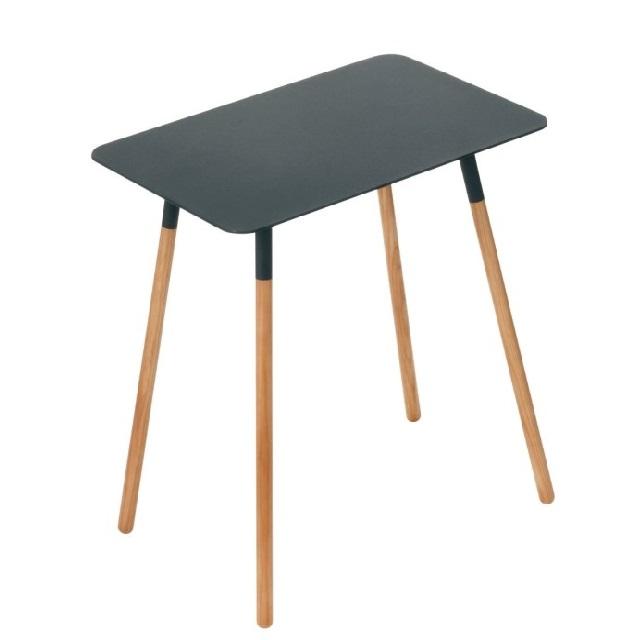 YAMAZAKI tafeltje zwart knoopsschat aalter