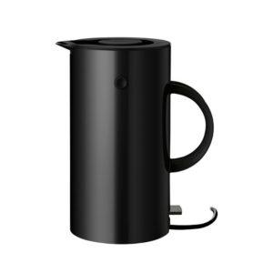 STELTON electric_kettle_black Knoopsschat Aalter