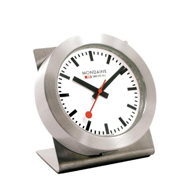 Mondaine-Magnet-Watch-White-Dial-Steel-Case-knoopsschat aalter