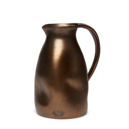 Dutchdeluxes_carafes_dentedjug_ceramic_knoopsschat aalter