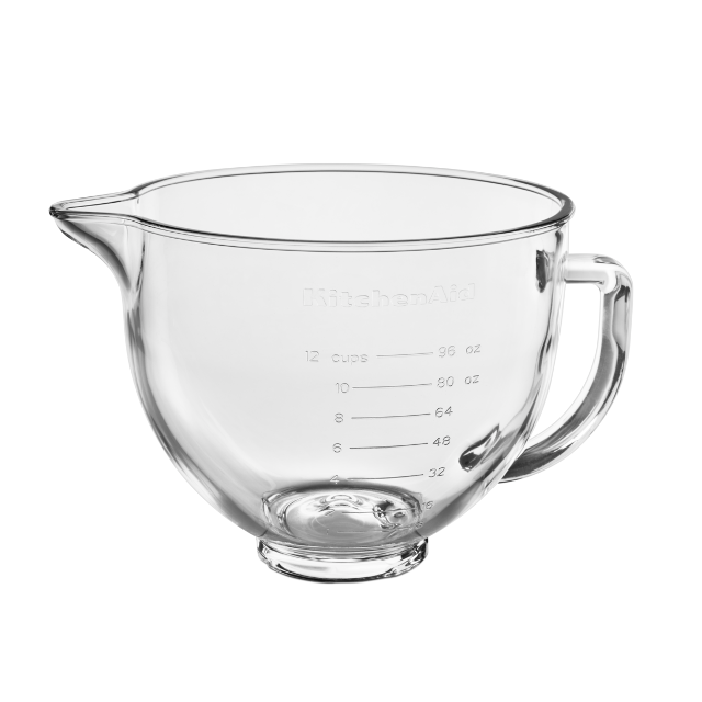 kitchenaid 5ksmgb glass bowl knoopsschat aalter