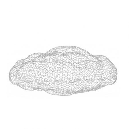 MAGIS mee too 'cloud' ijzer-skulptuur knoopsschat aalter