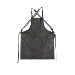 dutchdeluxes apron leather knoopsschat aalter
